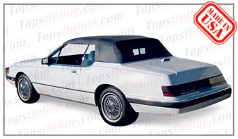 Convertible Tops & Accessories:1986 thru 1989 Mercury Cougar (Car Craft Conversion)